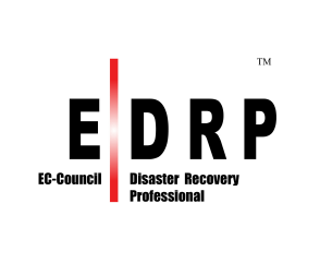 EC-COUNCIL DISASTER RECOVERY PROFESSIONAL EDRP TRAINING